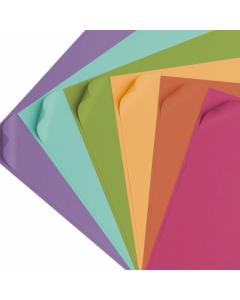 Set 24 fogli di cartoncino sottile colori vivaci Cricut - 30,5 x 30,5 cm