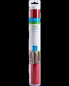 Foglio di vinile Premium Permanente 30,5 x 122 cm - Rosso pomodoro