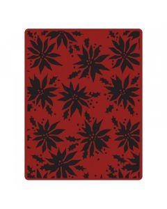"Fustella Sizzix Embossing Folder ""Stelle di Natale"" - 662433"