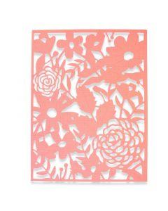 "Fustella Sizzix Thinlits ""Rosa del campo"" - 662860"