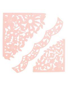 "Fustella Sizzix Thinlits ""Angoli decorati"" - 662861"