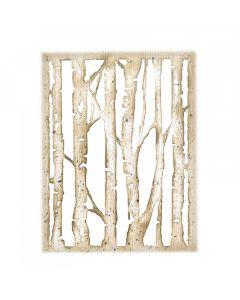 """Fustella Sizzix Thinlits """"Betulla ramificata"""" - 663108"""