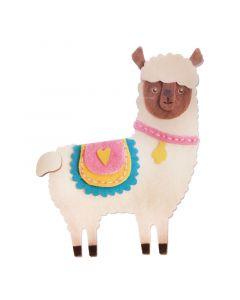 """Fustella Sizzix Bigz """"Alpaca"""" - 663486"""