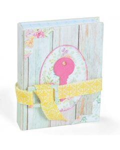 """Fustella Sizzix Bigz """"Mini libro / Diario segreto"""" - 664423"""