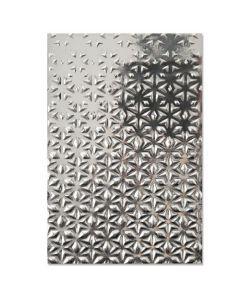 "Fustella Sizzix Embossing Folder 3D ""Stelle cadenti"" - 664508"
