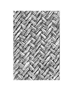 "Fustella Sizzix Embossing Folder 3D ""Intrecciato"" - 664759"
