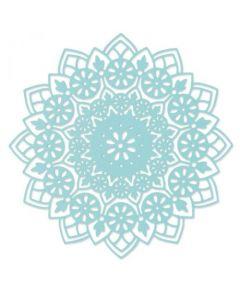 "Fustella Sizzix Thinlits ""Mandala floreale"" - 664882"