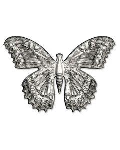 """Fustella Sizzix Impresslits 3D (Thinlits + Embossing) """"Farfalla"""" - 665251"""