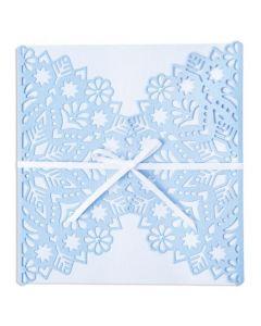 """Fustella Sizzix Thinlits """"Decorazione fiocchi di neve"""" - 665344"""