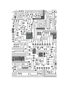"""Fustella Sizzix Embossing Folder 3D Multi-Livello """"Circuito"""" - 665372"""