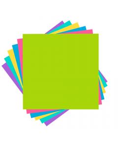 Set 6 fogli di cartoncino colori brillanti Cricut - 30,5 x 30,5 cm