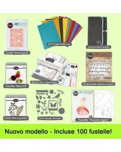 Sizzix Big Shot Plus formato A4 Starter kit super-maxi di Cardano Cecilia