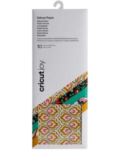 Carta adesiva design Cricut Joy - 11,4 x 30,4 cm (10 fogli)