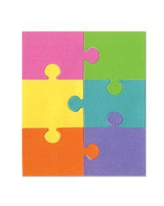 "Fustella Sizzix Bigz ""Puzzle #1"" - A10343"