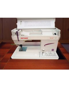 Macchina da cucire meccanica Gritzner Tipmatic 1037 DFT a base piana da inserire nel mobile