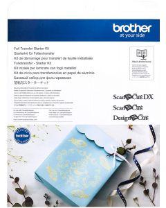 Starter kit per laminare con fogli metallici Brother Scanncut