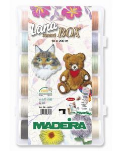 Lana Smart Box 18 filati lana Madeira - mt. 200