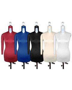 Manichino da sarta regolabile DONNA taglia dalla 42 alla 54 - Con braccio