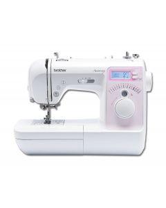 Macchina per cucire elettronica Brother Innov-is 10A + Piedino tagliacuci + Set 15 piedini