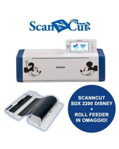 Macchina da taglio con scanner Brother Scanncut SDX 2200D Disney (Nuovo modello) + Roll Feeder