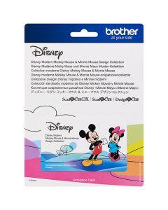 "Scheda Disney n.10 ""Topolino & Minnie moderni"" Brother Scanncut"