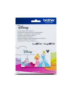 "Scheda Disney n.2 ""Principesse"" Brother Scanncut"