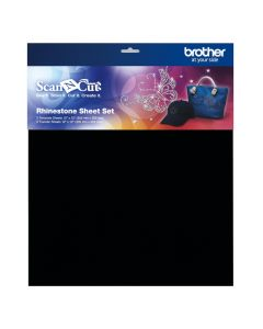 Set fogli per strass Brother Scanncut (3 fogli per tipo)