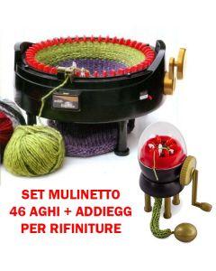 Set mulinetto di Cardano Cecilia + mulinetto AddiEgg