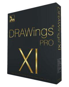 Software da ricamo multiformato DRAWings XI Pro