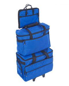 Set trolley con valigie per trasporto macchina e accessori