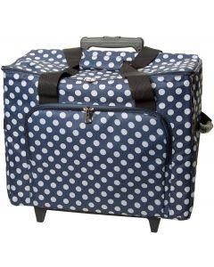 """Trolley professionale """"Polka Dots"""" per macchina e accessori cucito"""