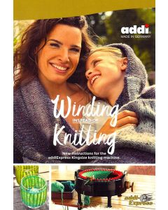 Libro per mulinetto addi-Express 46 aghi - Winding instead of Knitting